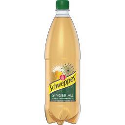 Schweppes Schweppes Soda Ginger Ale aux extraits de gingembre la bouteille de 1 l
