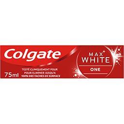 Colgate Colgate Dentifrice Max White One menthe sensation le tube de 75 ml