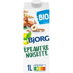 Bjorg Bjorg Boisson épeautre noisette sans sucres ajoutés BIO la brique de 1 l
