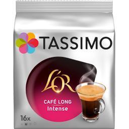 Tassimo Tassimo L'Or - Café Long Intense en dosettes les 16 dosettes de 8 g