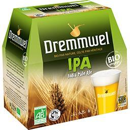 Dremmwel Dremmwel Bière IPA Bio les 6 bouteilles de 25 cl