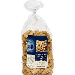 Creazioni d'italia Creazioni d'Italia Taralli Pugliesi au piment le paquet de 400 g