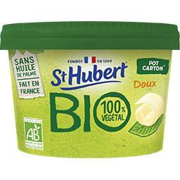 St Hubert St Hubert BIO - Margarine 100% Végétal doux BIO le pot de 230 g