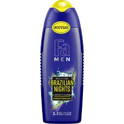 Fa Fa Men - Gel douche 2 en 1 corps & cheveux Brazilian Nights le flacon de 250 ml