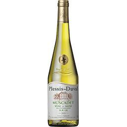 Plessis-Duval Plessis-Duval Muscadet Sèvre et Maine Sur Lie, vin blanc la bouteille de 75 cl