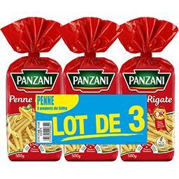 Panzani Panzani Penne Les 3 sachets de 500g - 1,5kg
