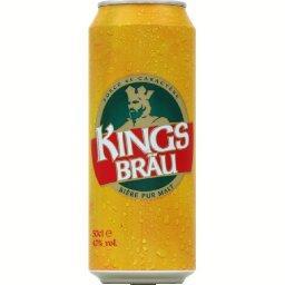 Kingsbräu Kingsbräu Bière pur malt la canette de 50 cl