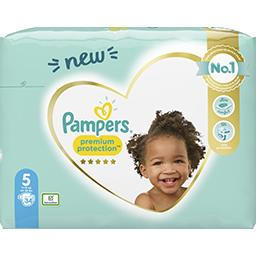 Pampers Pampers Couches Premium Protection taille 5, 11kg-16kg Le paquet de 34 couches