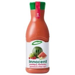 Innocent Innocent Pur jus fruits pressés pastèque framboise pomme citron vert la bouteille de 900 ml