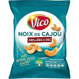 Vico Vico Noix de cajou grillées à sec le sachet de 150 g
