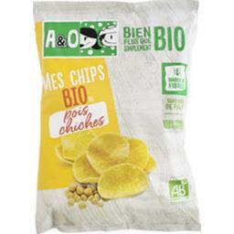 A&O A&O Mes Chips BIO de pois chiches le sachet de 80 g