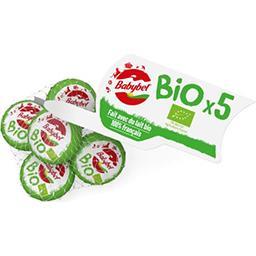 Babybel Babybel Mini - Fromage Bio les 5 fromages de 20 g