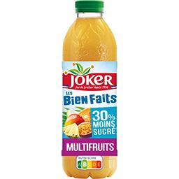 Joker Joker Les Bien Faits - Jus Multifruits la bouteille de 0,9 l