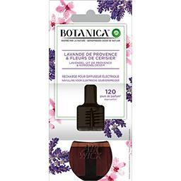 Botanica - Recharge pour diffuseur électrique lavande & fleurs cerisier