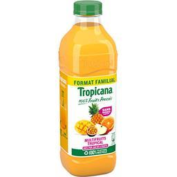 Tropicana Tropicana Jus multifruit tropical format familial la bouteille de 1.5l