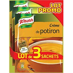 Knorr Knorr Soupe crème de potiron le lot de 3 sachets de 100g