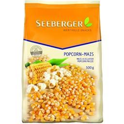 Seeberger Seeberger Popcorn mais - mais à éclater le paquet de 500 gr  environ