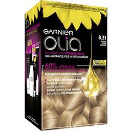 Garnier Garnier Olia - Coloration permanente blond doré cendré 8.31 la boite