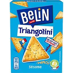 Belin Belin Biscuits crackers Triangolini sésame la boite de 100 g
