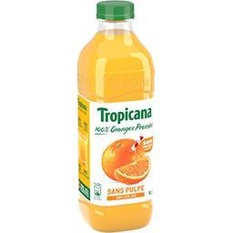 Tropicana Tropicana Pure Premium - Jus d'orange sans pulpe la bouteille de 1 l