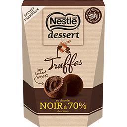 Nestlé Nestlé Chocolat Dessert - Truffes chocolat noir à 70% de cacao la boite de 250 g