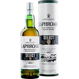 Laphroaig Laphroaig Islay Single Malt Scotch Whisky Select la bouteille de 70 cl + l'étui