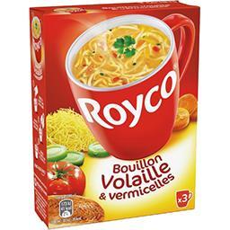 Royco Royco Bouillon volaille & vermicelles les 3 sachets de 10,6 g
