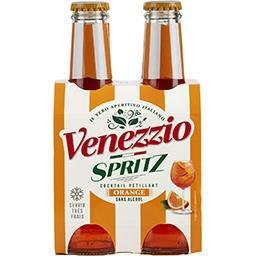Venezzio Bitter Venezzio Cocktail pétillant à l'orange Spritz les 4 bouteilles de 20cl - 80cl