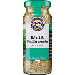 Basilic, feuilles coupées