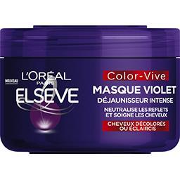 Elseve color vive - masque violet déjaunissement intense