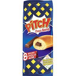 Pasquier Brioche Pasquier Pitch - Brioches Choco Barre choco noir les 8 brioches de 38,75g