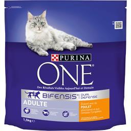 Purina One Purina One Croquettes Bifensis poulet Adulte pour chats le sac de 1,5 kg