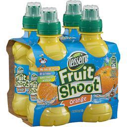 Teisseire Teisseire Fruit Shoot - Boisson à l'eau et à l'orange les 4 bouteilles de 20 cl
