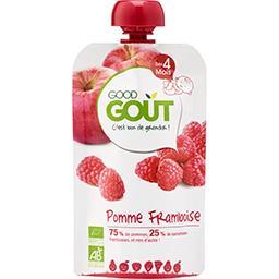 Good Goût Good Goût Pomme framboise BIO dès 4 mois la gourde de 120 g