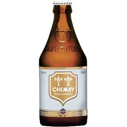 Chimay Chimay Pères Trappistes - Bière Triple blonde la bouteille de 33 cl