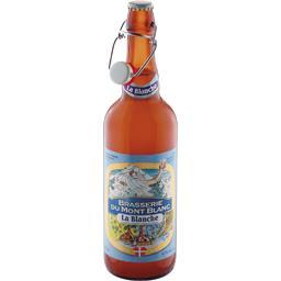 Brasserie du Mont Blanc Brasserie Mont Blanc Bière La Blanche la bouteille de 75 cl