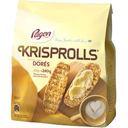 Krisprolls Krisprolls Petits pains suédois dorés le sachet de 240 g