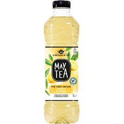 May Tea May Tea Thé vert infusé parfum citron la bouteille de 1 l