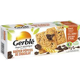 Gerblé Gerblé Goûters pépites de chocolat la boite de 12 goûters - 250 g