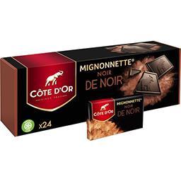 Côte d'Or Côte d'Or Mignonnette noir de noir la boite de 24 - 240 g