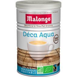 Malongo Malongo Café moulu décaféiné Deca Aqua BIO la boite de 250 g