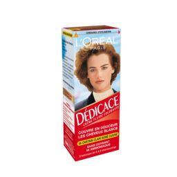 L'Oréal L'Oréal Paris Dédicace - Crème fluide colorante châtain clair doré cuivré 56, s'estompe en 6 à 8 shampooings la boite