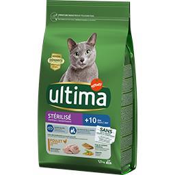 Ultima Ultima croquettes pour chat stérilisé senior +10 ans poulet le sac de 1,5 kg