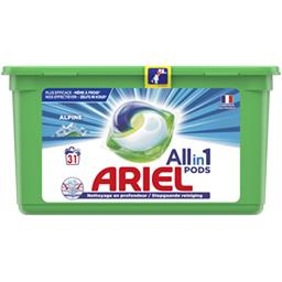 Ariel Ariel Lessive en capsules allin1 pods alpine La boite de 31 capsules