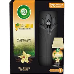 Désodorisant automatique Bois d'ébène et vanille