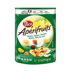 Apérifruits Vico Apérifruits - Mélange de fruits déshydratés le sachet de 120 g