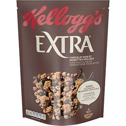 Kellogg's Kellogg's Extra - Céréales Chocolat Noir Noisettes la boîte de 500g