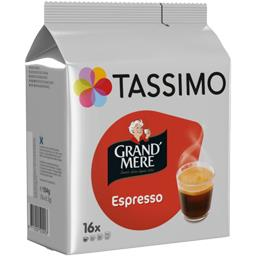 Tassimo Tassimo Grand' Mère - Capsules café Espresso les 16 capsules de 6,5 g