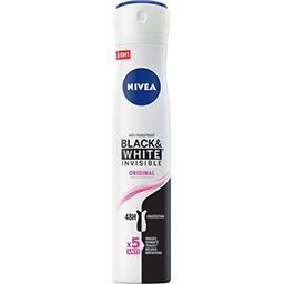 Nivea Nivea Anti-transpirant 48h Black & White Invisible l'atomiseur de 200 ml
