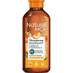 Naturé Moi Naturé Moi Shampooing nourrissant à l'abricot BIO & huile de sésame BIO le flacon de 250 ml